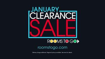 Rooms to Go January Clearance Sale TV Spot, 'Contemporary Living Room Set' - Thumbnail 8