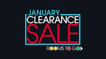Rooms to Go January Clearance Sale TV Spot, 'Contemporary Living Room Set' - Thumbnail 1