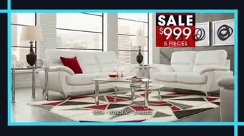 Rooms to Go January Clearance Sale TV Spot, 'Contemporary Living Room Set' - Thumbnail 3