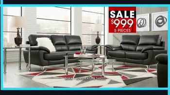 Rooms to Go January Clearance Sale TV Spot, 'Contemporary Living Room Set' - Thumbnail 4