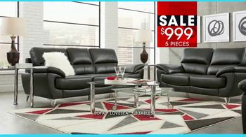 Rooms to Go January Clearance Sale TV Spot, 'Contemporary Living Room Set' - Thumbnail 6