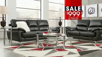 Rooms to Go January Clearance Sale TV Spot, 'Contemporary Living Room Set' - Thumbnail 7