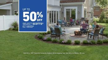 Lowe's TV Spot, 'Backyard Moment: Lawn Seed' - Thumbnail 7