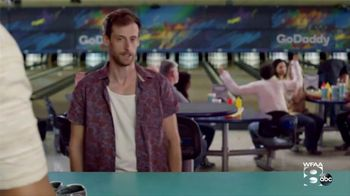 GoDaddy TV Spot, 'Armless Bowling vs. Building a Website' - Thumbnail 1