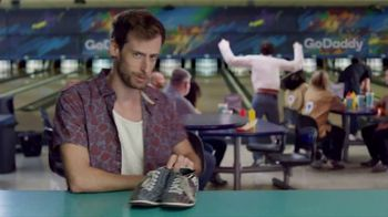 GoDaddy TV Spot, 'Armless Bowling vs. Building a Website' - Thumbnail 2