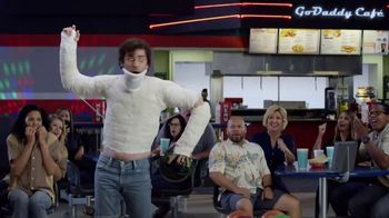 GoDaddy TV Spot, 'Armless Bowling vs. Building a Website'