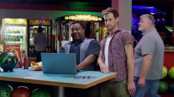 GoDaddy TV Spot, 'Armless Bowling vs. Building a Website' - Thumbnail 5