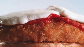Arby's Chicken Pepperoni Parmesan Sandwich TV Spot, 'Luxurious Place' - Thumbnail 6