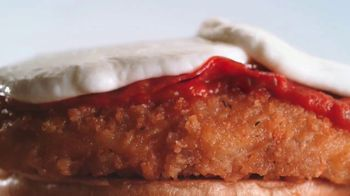 Arby's Chicken Pepperoni Parmesan Sandwich TV Spot, 'Luxurious Place' - 2769 commercial airings