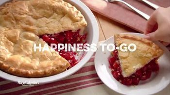 Marie Callender\'s Pie Sale TV Spot, \'Happiness to Go\'