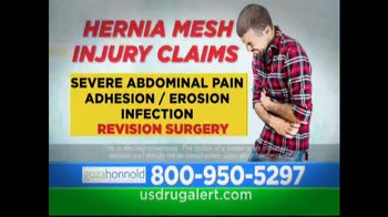 Goza Honnold Trial Lawyers TV Spot, 'Hernia Mesh Removal'