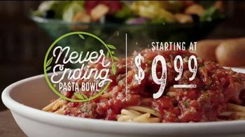 Olive Garden Never Ending Pasta Bowl TV Spot, 'Pasta Bowls Are Back' - Thumbnail 3