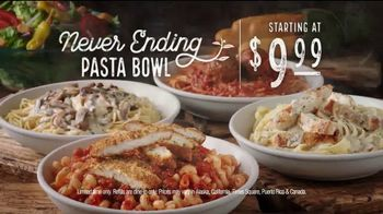 Olive Garden Never Ending Pasta Bowl TV Spot, 'Pasta Bowls Are Back' - Thumbnail 8