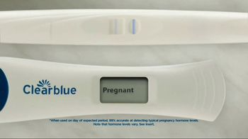 Clearblue Digital Pregnancy Test TV Spot, 'Clarity' - Thumbnail 9
