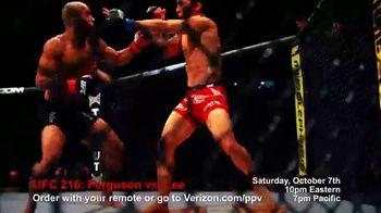 Fios by Verizon Pay-Per-View TV Spot, 'UFC 216: Ferguson vs. Lee' - Thumbnail 1