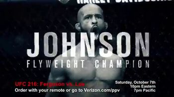 Fios by Verizon Pay-Per-View TV Spot, 'UFC 216: Ferguson vs. Lee' - Thumbnail 2