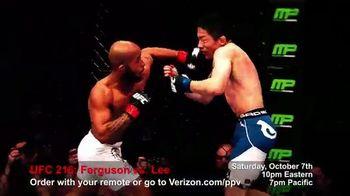 Fios by Verizon Pay-Per-View TV Spot, 'UFC 216: Ferguson vs. Lee' - Thumbnail 3