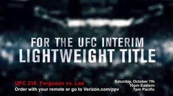 Fios by Verizon Pay-Per-View TV Spot, 'UFC 216: Ferguson vs. Lee' - Thumbnail 4