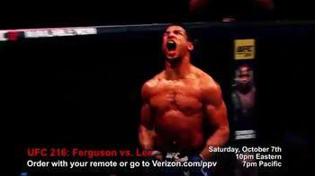 Fios by Verizon Pay-Per-View TV Spot, 'UFC 216: Ferguson vs. Lee' - Thumbnail 6