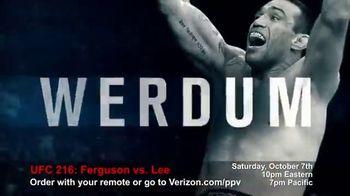 Fios by Verizon Pay-Per-View TV Spot, 'UFC 216: Ferguson vs. Lee' - Thumbnail 7