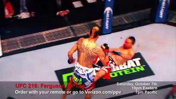 Fios by Verizon Pay-Per-View TV Spot, 'UFC 216: Ferguson vs. Lee' - Thumbnail 8