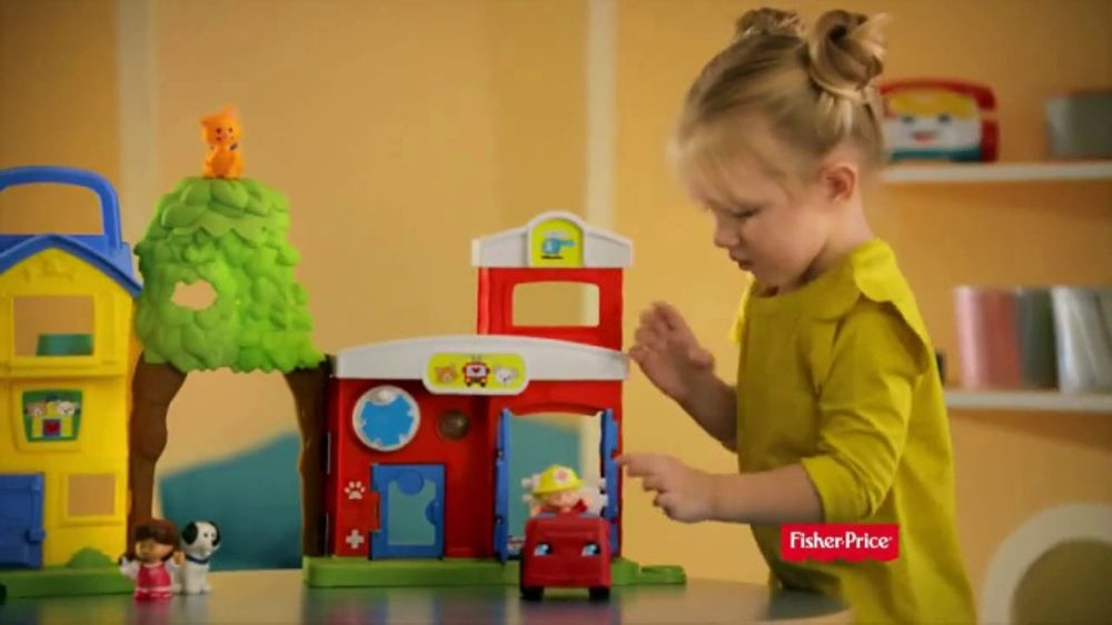 fisher price little people animal rescue tv commercial. Black Bedroom Furniture Sets. Home Design Ideas