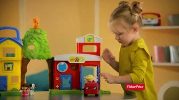 Fisher Price Little People Animal Rescue TV Spot, 'Stuck'