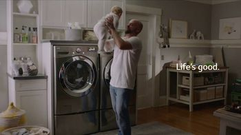 LG SideKick Washer TV Spot, 'Baby'