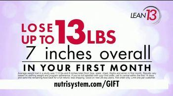 Nutrisystem Lean13 TV Spot, 'Bars and Shakes Free' - Thumbnail 6