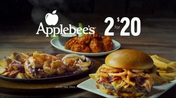 Applebee's 2 for $20 TV Spot, 'Hungry Eyes' Song by Eric Carmen - Thumbnail 8