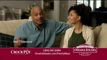 Omaha Steaks Crock-Pot Family Meal Deal TV Spot, 'Dinner Solved'