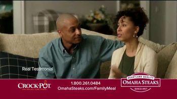 Omaha Steaks Crock-Pot Family Meal Deal TV Spot, 'Dinner Solved' - Thumbnail 5