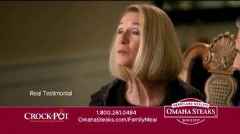 Omaha Steaks Crock-Pot Family Meal Deal TV Spot, 'Dinner Solved' - Thumbnail 6