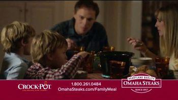 Omaha Steaks Crock-Pot Family Meal Deal TV Spot, 'Dinner Solved' - Thumbnail 8