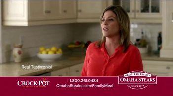 Omaha Steaks Crock-Pot Family Meal Deal TV Spot, 'Dinner Solved' - Thumbnail 9