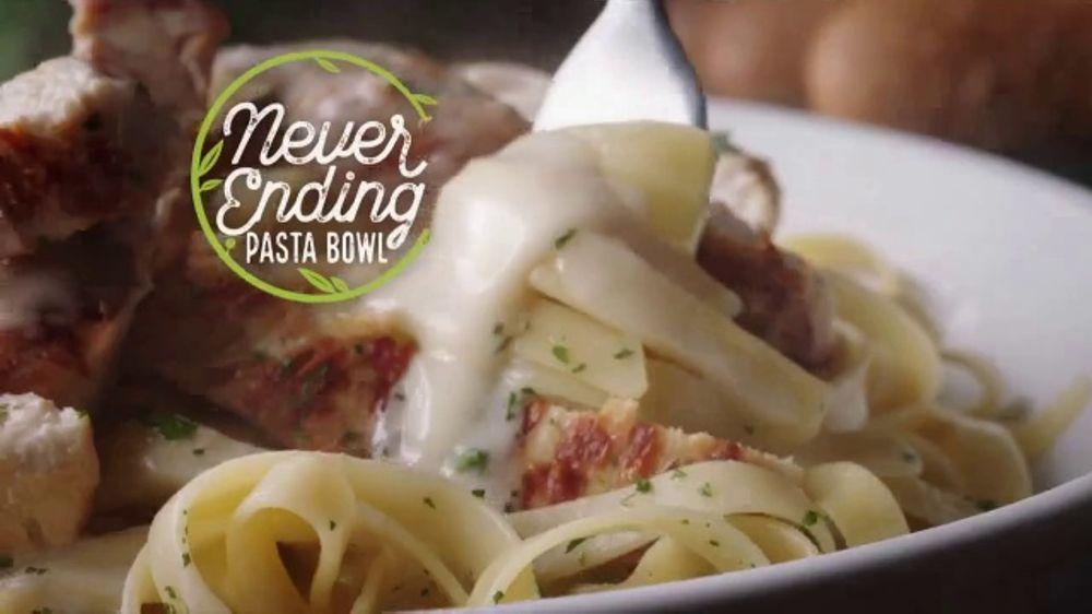 Olive Garden Never Ending Pasta Bowl TV Commercial, 'De vuelta'
