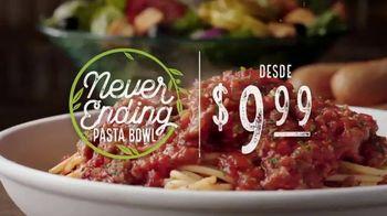 Olive Garden Never Ending Pasta Bowl TV Spot, 'De vuelta' [Spanish] - Thumbnail 2