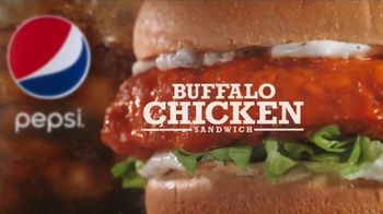 Arby's Buffalo Chicken Sandwich TV Spot, 'Sports Bar' - 582 commercial airings