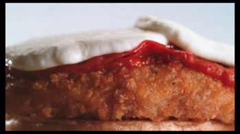 Arby's Chicken Pepperoni Parmesan Sandwich TV Spot, 'Eggplant' - Thumbnail 6