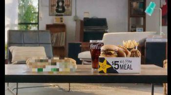 Carl's Jr. $5 All Star Meal TV Spot, 'Guillotine' - Thumbnail 1
