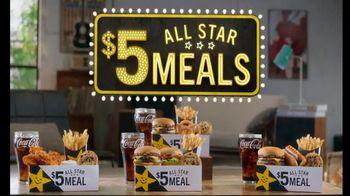 Carl's Jr. $5 All Star Meal TV Spot, 'Guillotine' - Thumbnail 7