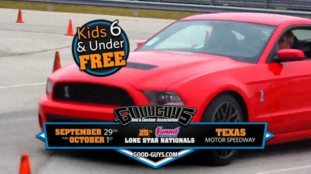 Goodguys TV Commercial Summit Racing Lone Star Nationals - Good guys motors