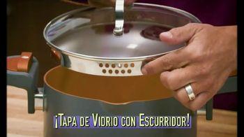 Gotham Steel Pasta Pot TV Spot, 'Tapa de vidrio' con Daniel Green [Spanish] - Thumbnail 2