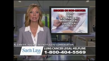 Sach Law TV Spot, 'Lung Cancer' - Thumbnail 9