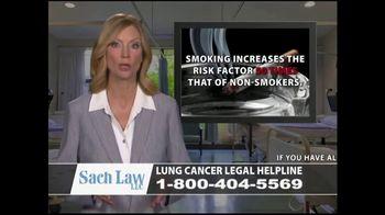 Sach Law TV Spot, 'Lung Cancer' - Thumbnail 2