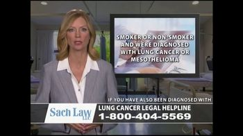 Sach Law TV Spot, 'Lung Cancer' - Thumbnail 3