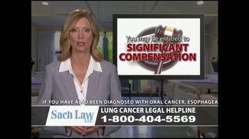 Sach Law TV Spot, 'Lung Cancer' - Thumbnail 4