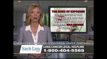 Sach Law TV Spot, 'Lung Cancer' - Thumbnail 5