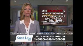 Sach Law TV Spot, 'Lung Cancer' - Thumbnail 6