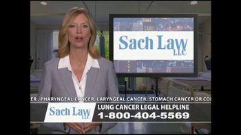 Sach Law TV Spot, 'Lung Cancer' - Thumbnail 7